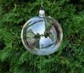 Átlátszó üveggömb